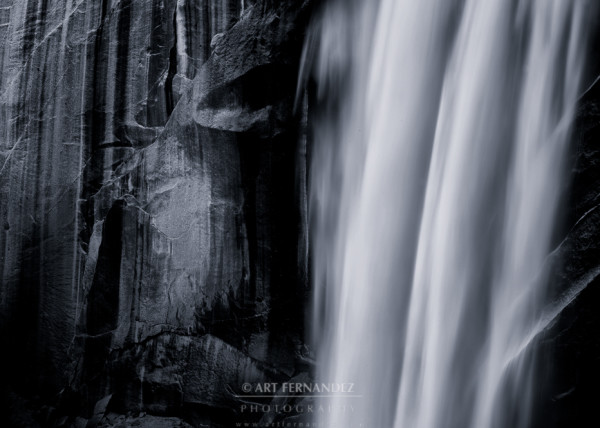 Motion Over Granite, Vernal Falls