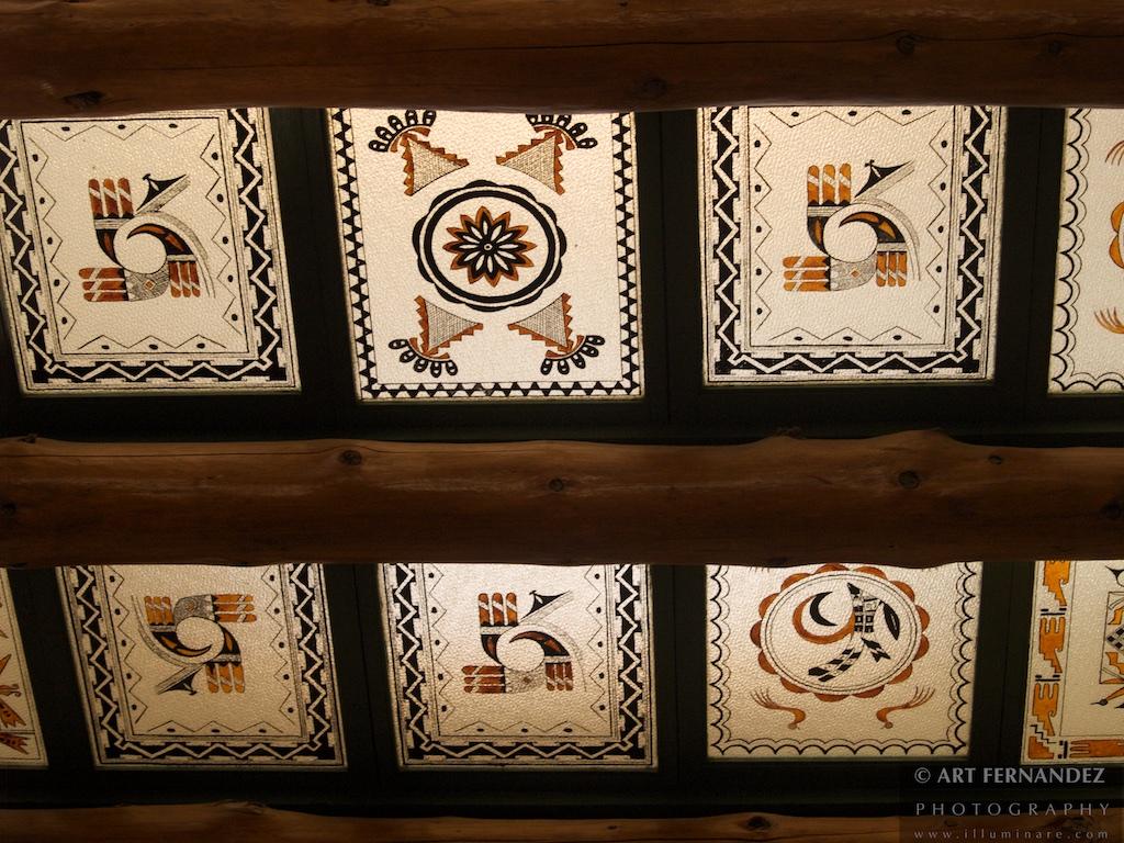 Desert Inn Ceiling