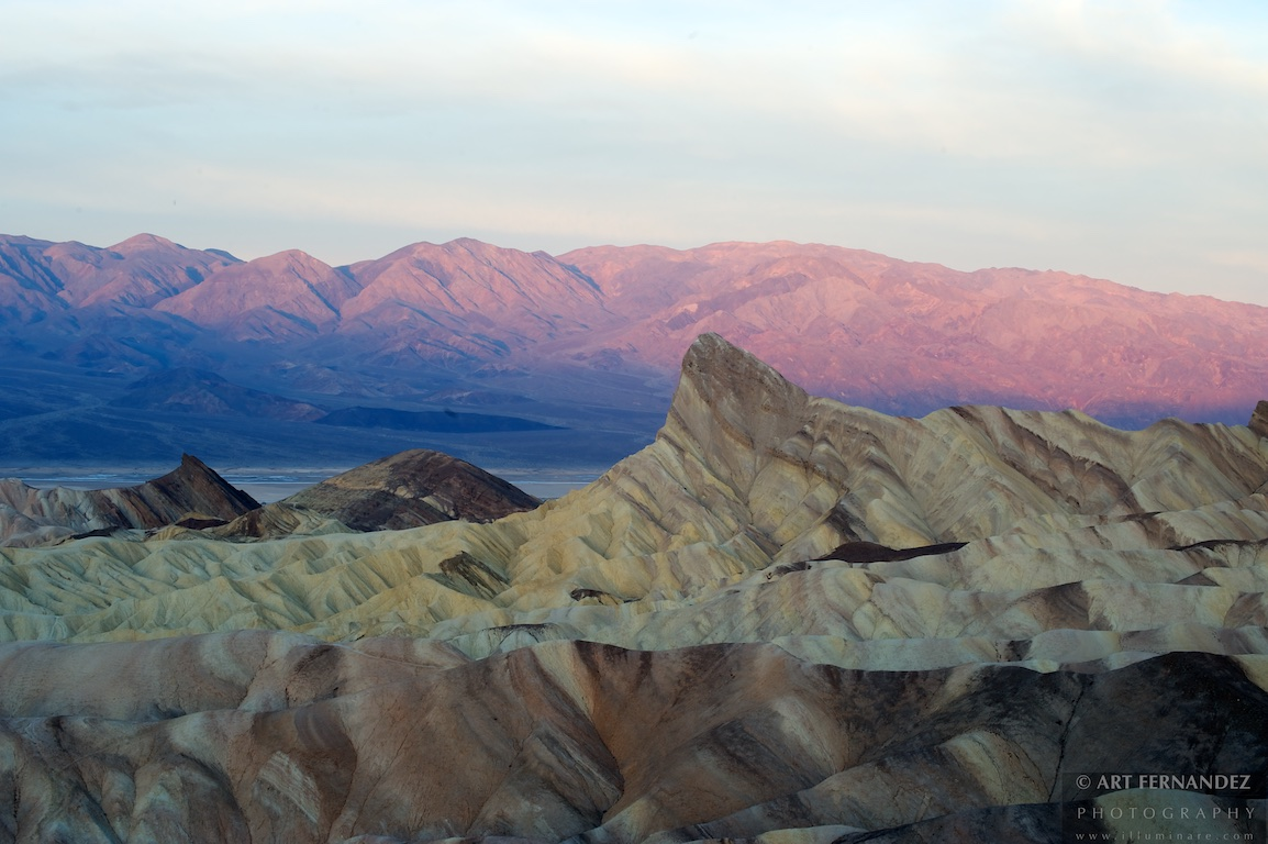 Zabriskie Point at Dawn #2